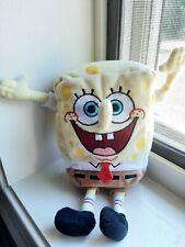 """SpongeBob SquarePants Plush 8"""" Stuffed  2006 Viacom TY Beanie Babies VGUC"""