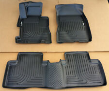 SALE HUSKY FLOOR MAT FRONT & 2nd Row Seat 3 Pcs Set for 06-11 Civic Sedan 4DR