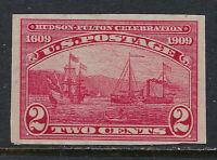 SCOTT 373 1909 2 CENT HUDSON FULTON ISSUE MNH OG F-VF CAT $26!