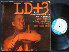LOU DONALDSON THREE SOUNDS LD+3 LP BLUE NOTE 4012 US 1959 RVG EAR MONO 47 W.63rd