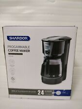 Shardor Drip Coffee Maker, 15 Cup Programmable Brew Coffee Machine Warming Plate