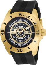 Invicta 25771 S1 Rally Men's Automatic 48mm Gold-Tone Stainless Steel Black Dial
