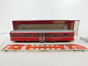 CK412-0,5# Bemo H0m/DC 3284 125 Personenwagen 2. Klasse B 2335 RhB, sehr gut+OVP