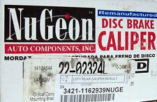 Nugeon 22-02324L - Rear Disc Brake Caliper, Left