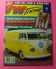 VW TRENDS MAGAZINE AUG/1994...SHOW SEASON KICK-OFF..CONVERTIBLE TOP RESTORATION