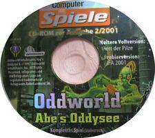 Oddworld-Abe 's Oddysee alemana PC version genio de juego Pass
