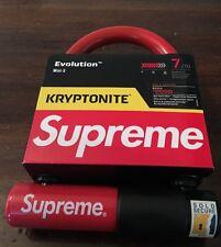 Supreme/Kryptonite Bike Lock Evolution Mini-5 SHIPS FAST SOLD OUT
