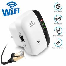 WiFi Range Extender Repeater 300Mbps Wireless Router Signal Booster Amplifier
