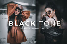 Tono negro, 4 Presets Premium Lightroom móvil