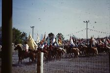 Original  35mm Slide KISSIMMEE FL RODEO FEB 26 1951