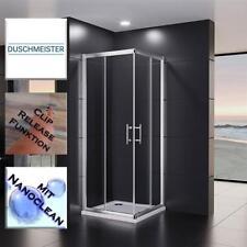 Duschkabine Duschabtrennung Duschwand Schiebetür Eckeinstieg 90x90 80x80 75x90