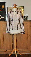 LADIES DESIGNER TOMMY HILFIGER COTTON SHIRT SIZE S