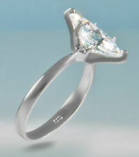 Z Sterling Silver Size 7 Marquise Ring Extra Brilliant C