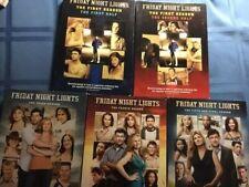 Friday Night Lights, 4 seasons, 1,3,4,5, DVD