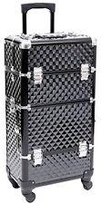Songmics® Nail Art Make Up Beauty Case Trolley Suitcase Box Nail Polishes