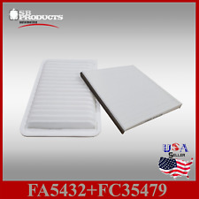 Auto1tech Engine and Cabin air filter COMBO ~ Fits 2002-2006 Toyota Camry