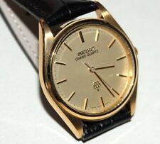GRAND SEIKO QUARTZ- 1978 Seiko Grand Gold Twin Quartz Cal. 9940 SUWA - TOP !
