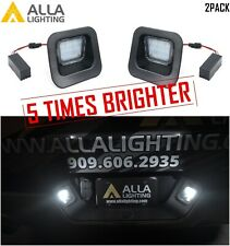 Alla Lighting License Lamp Lens LED Housing Replacement Assembly for Dodge RAM