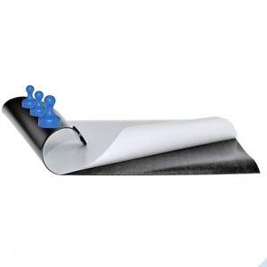 Eisenfolie, roh selbstklebend, DIN A Formate - 0,4mm Magnetfolie Ferrofolie