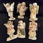 Victorian Ornament Paper Angel Kids Set of 6 1983 Merrimack Publishing