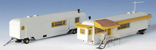 HO Kibri 15704 Circus style TWO Trailer Homes / House Trailers MODEL KIT