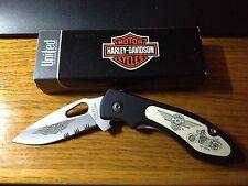 Harley Davidson Fat Boy Knife new in box HD4-FB