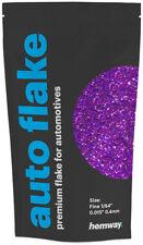 "Hemway Purple Holographic Metal Flake 0.015"" 100g Auto Car Glitter Paint Spray"