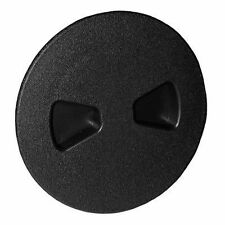 "TH Marine DPS-4S-1-DP Sure-Seal Deck Plate BLACK 4"" Screw Out Storage MD"