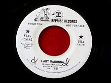FATS DOMINO~ LADY MADONNA~ PROMO~BEATLES ~ ONE FOR THE HIGHWAY~ ~RARE ~ R&B 45