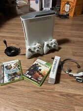 New listing Xbox 360 60Gb Hdd Console Bundle with Games & Controllers & More! Free Shipping