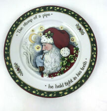 "Christmas Story PS ""The Stump of a pipe""  Susan Winget Salad Plate"