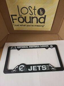 NFL New York Jets Car Truck Plastic License Plate Frame