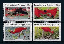 [53569] Trinidad & Tobago 1990 Birds Vögel Oiseaux Ucelli WWF Scarlet Ibis MNH