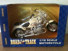 "MAISTO ROAD & TRACK BMW MOTORCYCLE DIE CAST 5"" L 1:18"