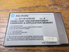 Allen Bradley 2711E-U1B12C Panel View 1200 Enhancement Firmware Memory Series A
