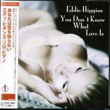 EDDIE HIGGINS-YOU DON'T KNOW WHAT LOVE IS-JAPAN MINI LP CD C75