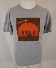 New Get Lucky gray Daft Punk American Apparel T-shirt L Random Access Memories