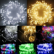 50/100 LED Waterproof String Lights Battery Operated Outdoor Christmas Wedding