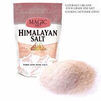 Himalayan Pink Salt 1kg Unrefined Pure - Naturally Organic - Food Grade