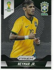 2014 Panini Prizm World Cup Brazil NEYMAR JR. rc! rookie card, card number 112