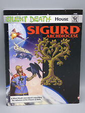 Silent Death House Sigurd Archdiocese RPG Roleplaying Game Book ICE 7216