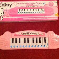 BNIB HELLO KITTY KEYBOARD PIANO IDEAL XMAS GIFT