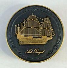 "John Pinches Great British Ship Collection ""Ark Royal"" Trinket Box 1980"