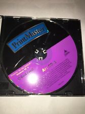Win95 Print Master Art CD 1 Ships Same Day Rare / Vintage ( CD only And Jewel C)