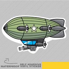 Dirigible guerra militar Volar Aire balloo Vinilo Pegatina Calcomanía ventana de coche furgoneta bicicleta 2562