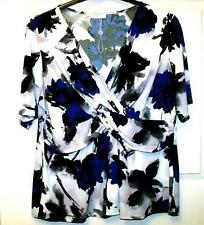 NEW COLEBROOK BY WINDSMOOR BEAUTIFUL BLUE & BLACK MIX SIZE XL ~ 16/18 #276