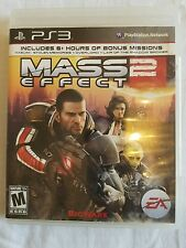 FREE SHIPPING! MASS EFFECT 2 PS3 - Playstation 3 Video Game