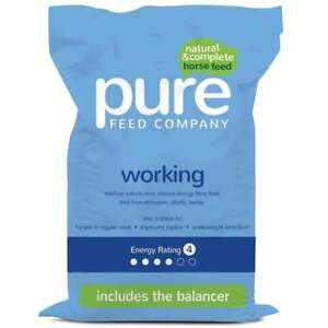 Pure Feed Company Pure Working 15Kg Horse Feed
