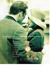 PUBLICITE ADVERTISING 074  1994  FESTINA   collection montre femme