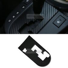 Interior Gear Panel Carbon Decal Sticker Black 1P for Kia 2010-2013 Cerato Koup